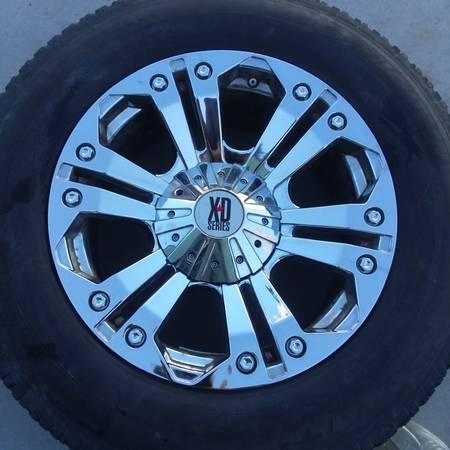Photo 20X9 XD quotMonsterquot Wheels Tundra OR Ram 5 Lug - $300 (Ontario OR Pendleton OR)