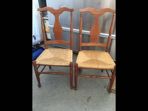 Photo 6 Quality Cane seat diningkitchen chairs - $50 (Baker City, OR)