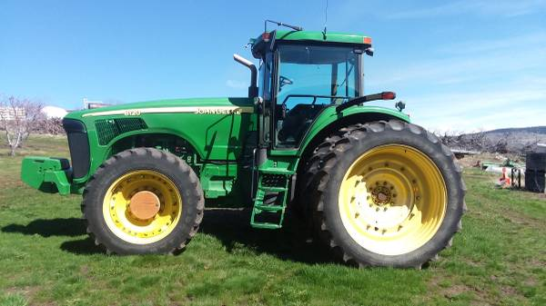 Photo 8120 John Deere MFWD Tractor - $74000 (La Grande, OR)