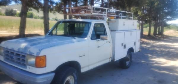 Photo 91 ford 34 ton 4x4 service truck - $3,250 (Emmett)