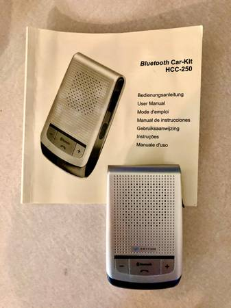 Photo AnyCom HCC-250 Hands Free Bluetooth Car Kit - $5 (Meridian)