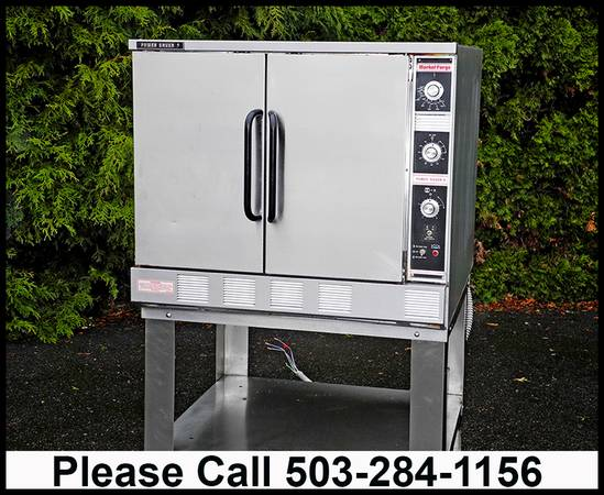 Photo CONVECTION OVEN MARKET FORGE POWER SAVER ll  ELECTRIC  FULL SIZE - $2,650 (OBO Portland, OR)