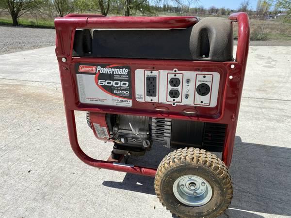 Photo Coleman Powermate 5000 Watt Portable Generator - $500 (Hermiston)