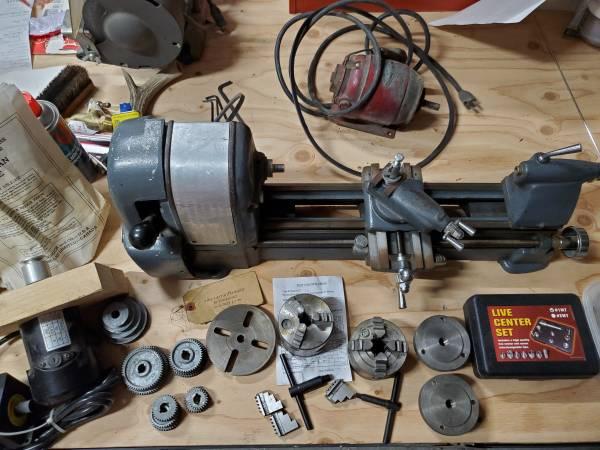 Photo Craftsman 6x18 Metal Lathe Screw CuttingThreading - $700 (Baker City)