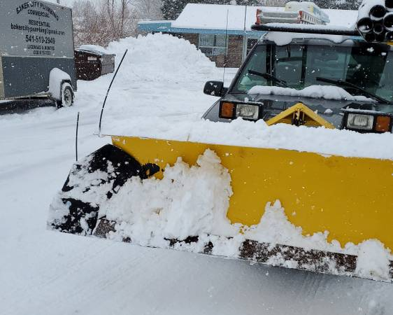 Photo Fisher snow plow - $4,000 (Baker city)