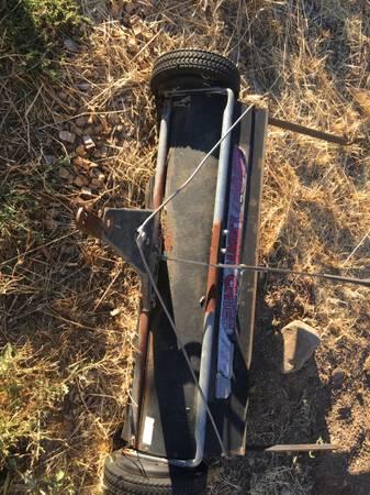 Photo Grass Rake and Bagger - $50 (John Day)