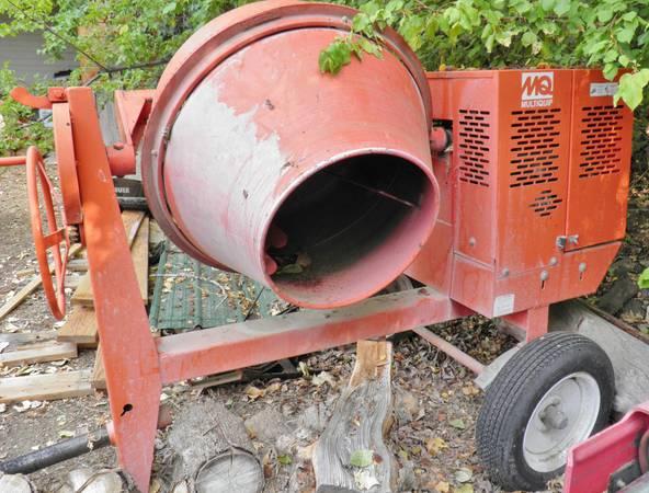 Photo Heavy-duty Concrete Mixer Multiquip MC-94 - $1,600 (Richland)