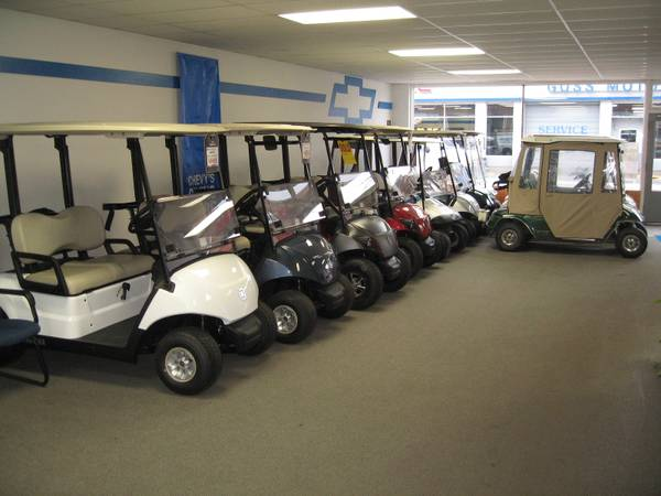 Photo Nice Selection of New and Used Golf Carts - $2488 (La Grande, OR)