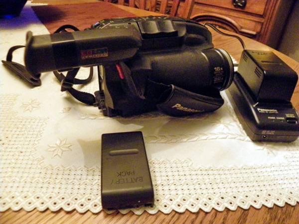Photo Panasonic Palmcorder Video Camera - $60 (Milton Freewater)