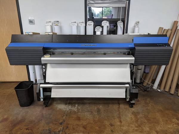 Photo Roland Wide Format Printer - $13,000 (Garden City)