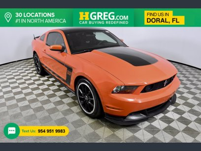 Photo Used 2012 Ford Mustang Boss 302 Coupe for sale