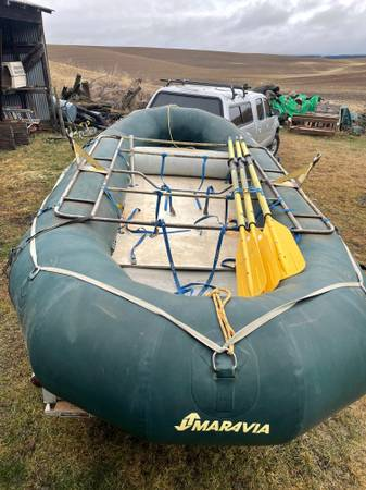 Photo Used Maravia 1439 Raft - $2,000 (Moscow)