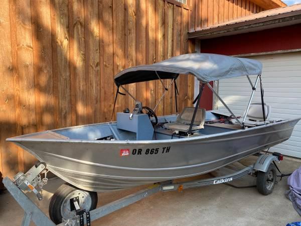 Photo fishing boat for sale - $8,000 (la grande)