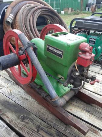 Photo 1917 McCormick Deering 1 12HP Hit and Miss Engine - $550 (Mount Vernon)
