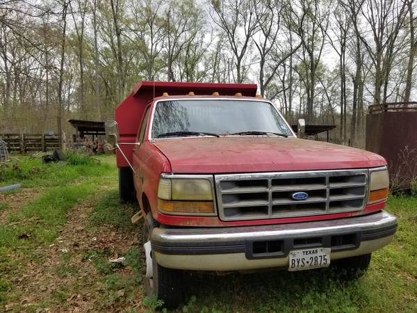 Photo 1997 F350 Dump Truck - $15500 (Marshall)