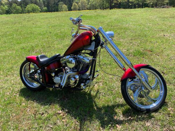 Photo 2004 Harley Davidson Dyna Chopper. Original owner - $9,800 (Tyler)