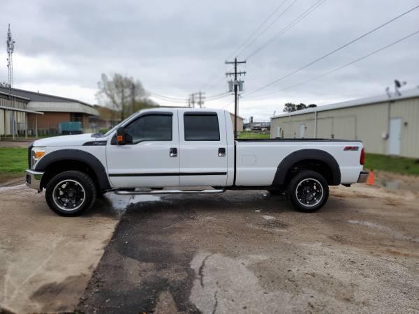 cab f250 4x4 crew truck quitman xl ford larger storage