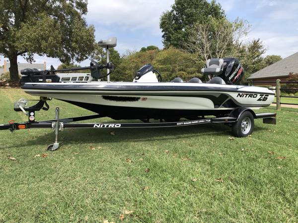 Photo 2014 Nitro Z-6 Bass Boat - $18,500 (Whitehouse)