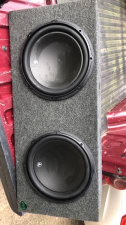 Photo 2 Jl audio 12s and 1000 watt Jl audio  - $400 (Gladewater)