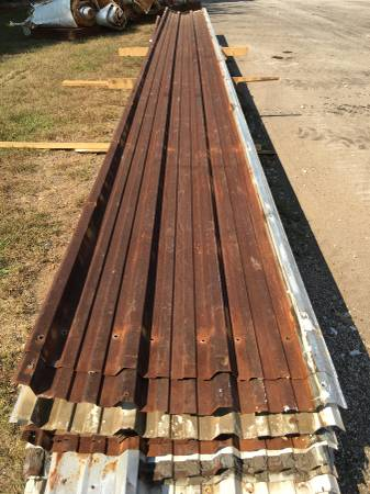 Photo 3039 Ft. Sheets of Roof Metal with Patina - $1 (Near Longview, Texas)