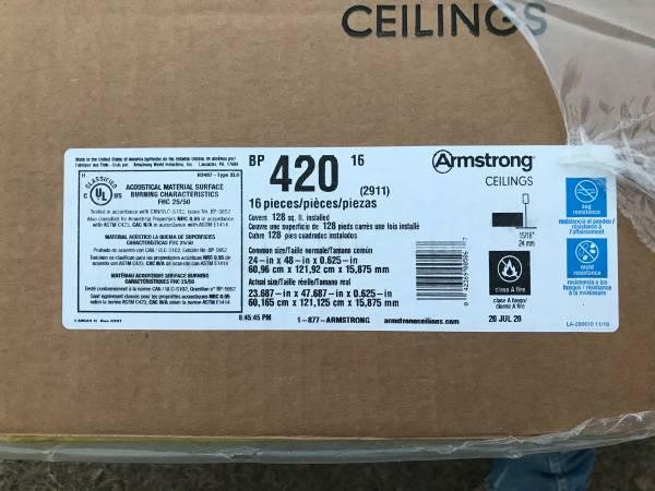 Photo 48X24 Ceiling tiles New - $225 (Sulphur Springs)