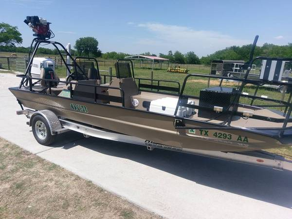 Bow Fishing Or Flounder Boat 20 18500 Alvin Boats