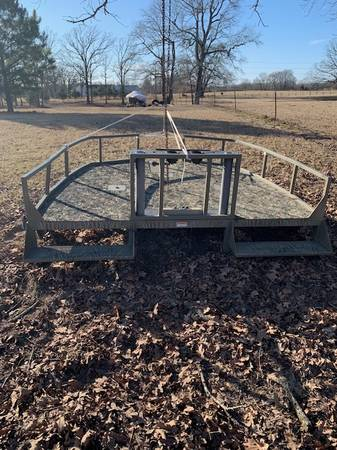 Photo Bow Hunting Deck for Tracker Boat - $3,000 (Quitman)