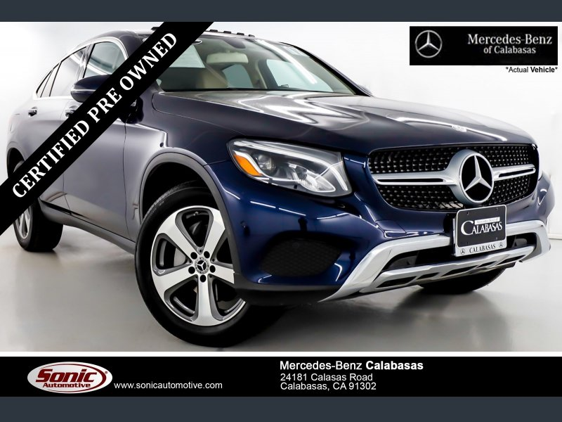 Certified 2017 Mercedes-Benz GLC 300 4MATIC Coupe for sale ...