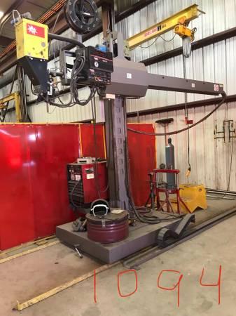 Photo Column and Boom SubArc Welding Machine - $50,000 (Tyler)