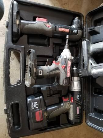 Photo Craftsman Drill Set - $20 (Whitehouse)