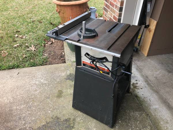Photo Craftsman Table Saw - $150 (Longview)