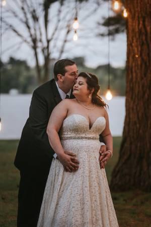 Photo Davids Bridal Wedding Dress Size 16 - $600 (Murchison, TX)