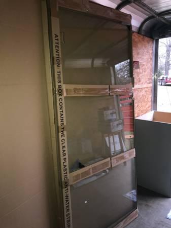 Photo Glass Shower Door - $225 (Sulphur Springs)