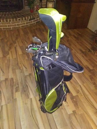 Photo Golf Clubs (left hand) full set Aspire X3 Speed Zone - $75 (Queen city)