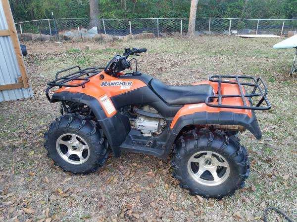 Photo Honda Rancher 350 4 wheeler - $2500 (TYLER)
