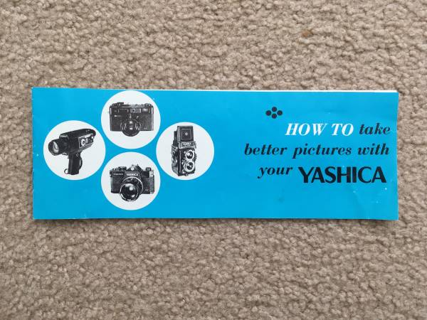 Photo How To Take Better Pictures With Your Yashica Booklet - $4 (Dallas)