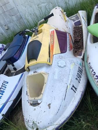 Photo Jetski for parts or repair, wave blaster 2 Yamaha - $200 (Cedar Creek Lake)