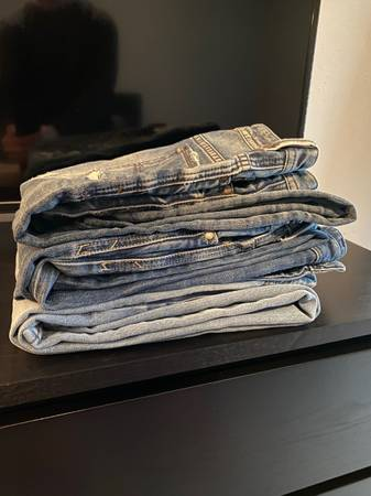 Photo Nice Mens lot - diesel jeans Vans John Varvatos converse - $100 (Tyler)