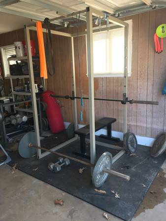 Photo Olympic weight set - $600 (Frankston)