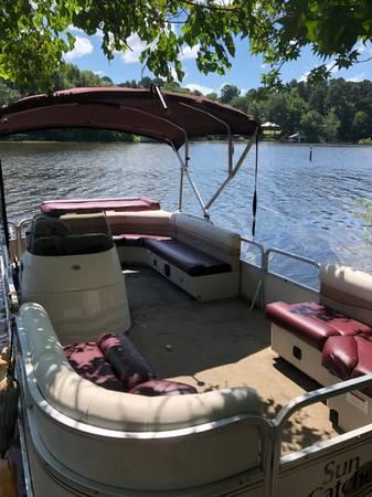 Photo Pontoon Boat For Sale - $9,500 (Longview Area)