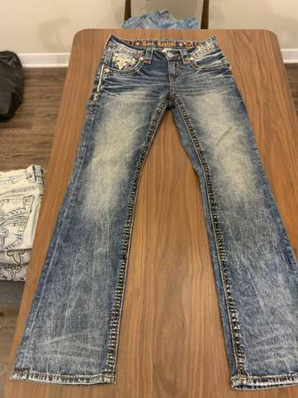 Photo Rock Revival Jeans - $50 (Tyler)
