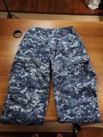 Photo US Navy BDU pants size Small - Regular - $20 (Tyler)