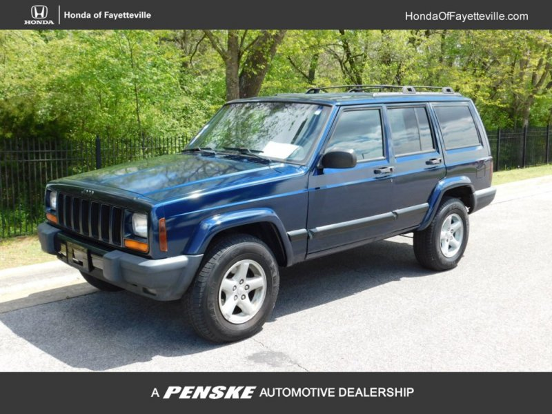 Photo Used 2000 Jeep Cherokee 4WD Sport 4-Door for sale