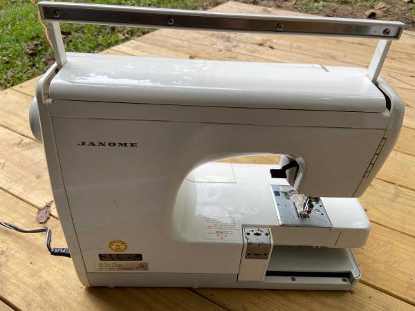 Photo Vintage Janome Embroidery Sewing Machine - $500 (Tyler)