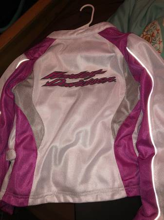 Photo Womens size small Harley Davidson Nylon Jacket - $30 (Cason)