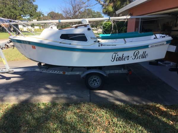 Photo sailboat West Wight Potter 15 - $4495 (14185 hetrick cir s largo fl)