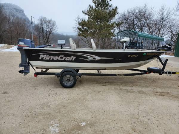 Photo 06 mirrocraft fishing boat - $6,500 (Fountain City)