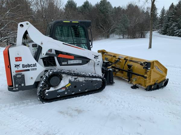Photo 10 Off Sale HLA 813 Snow Wing Snow Plow, 839 plow, 2.539 Wings - $10,500 (Stillwater)