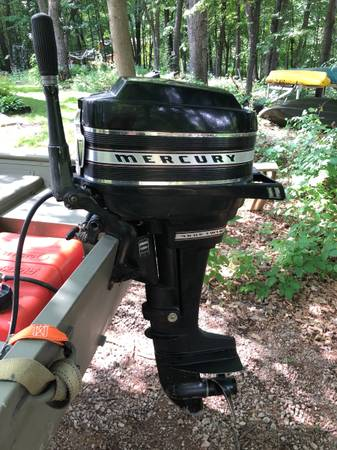 Photo 10 hp Mercury outboard - $150 (Eau Claire)