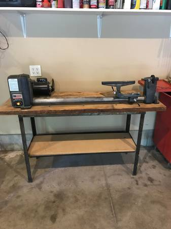 Photo 12 Craftsman Wood Lath - $150 (Black River Falls)